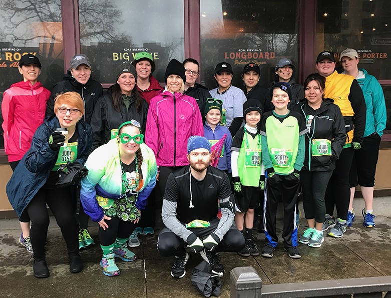 Thanks to everyone who came out for the Couve Clover Run!